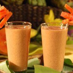 Batido para quitar el hambre, ideal para tomar en las horas de la tarde, después de un dia de comida ligera y saludable.
