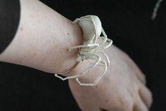 white spider bracelet fiberart soft sculpture Ballet Dance, Dance Shoes, Slytherin Aesthetic, Soft Sculpture, Needle Felting, Spider, Slippers, Etsy, Vintage