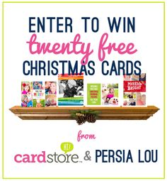 Giveaway from Cardstore: Win FREE Christmas Cards! by Persia Lou