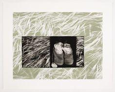 Leslie Golomb   photogravure and silkscreen