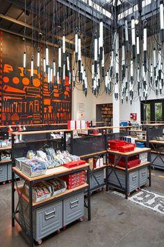 MERCI SHOP During Paris Design Week, Paris concept store, merci, opened the season with a large exhibit,. Merci Store Paris, Merci Shop, Retail Store Design, Retail Shop, Visual Merchandising, Plans Loft, Shop Window Displays, Retail Displays, Paris Design