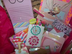 Shades Of Pink Surprise Goody Box Planner and by ASprinkleOfLovely
