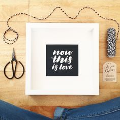 'now this is love' print in black getting ready for the #mthawthornfest market!