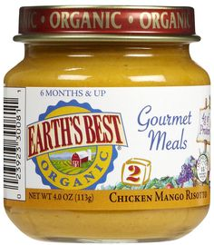 Gourmet Baby Food: My version of Chicken Mango Risotto