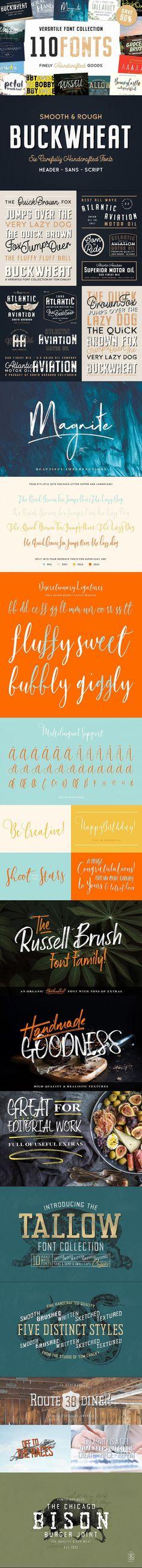 The Ultimate Handcrafted Fonts Pack #handmadefonts #logo #truetypefont #otf #autumn #handlettering #otf #typeface #design #vintage #elegant #opentypefont #truetype #fonts #VintageFont #script #otf #summer #sanserif Calligraphy Fonts, Typography Fonts, Typography Design, Hand Lettering, Truetype Fonts, Fashion Logos, Font Packs, Font Design