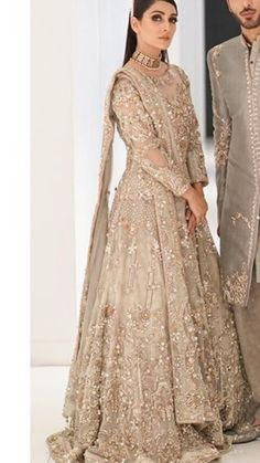 Pakistani Bridal Couture, Pakistani Party Wear, Pakistani Bridal Dresses, Pakistani Suits, Indian Bridal, Indian Gowns, Indian Attire, Indian Wear, Dulhan Dress