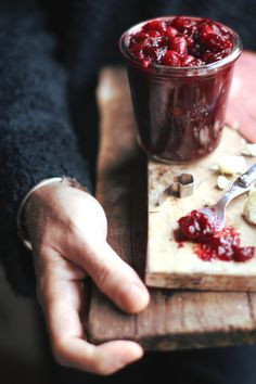 Cranberries and Port Sauce | London Fridge