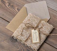 rustic wedding invitations - Google Search