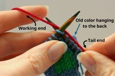http://yarnsub.com/articles/techniques/twist-and-weave-color-change/?utm_source=sendinblue - changing colors continental syle knitting to neaten stitches.