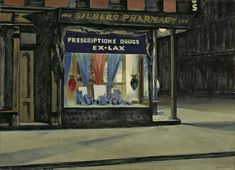Pharmacie d'Edward Hopper