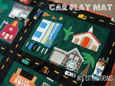 Car Play Mat + cute car mat links