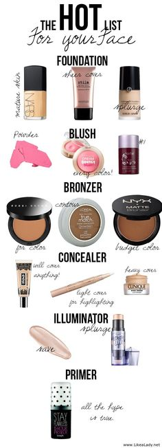 The best products- according to a makeup artist
