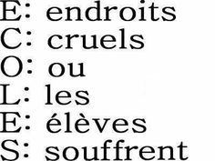 ▷ funny school quote: Info and ▷ citation drole ecole : Infos et ressources ▷ funny school quote: Info and resources - Funny Relationship Quotes, Funny Quotes About Life, School Quotes, School Humor, Funny School, Funny Picture Quotes, Funny Photos, Funny French, Quote Citation