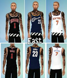 by youngsimblr ( CAN'T WAIT TO BE THE KING ) - NBA / Basketball Jerseys