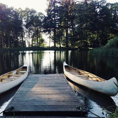 lake + boats