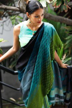 Aduru Ganga Saree from FashionMarket.lk
