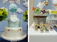 festa infantil balões
