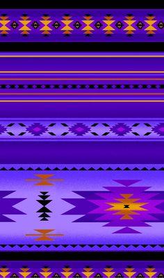 Southwest Tucson Purple Indian Blanket by Loriscountryfabrics, $8.95