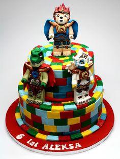 PinkCakeLand London Cakes: Lego Chima Birthday Cake, 800x1067 in 275.8KB