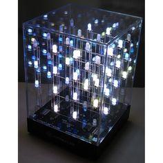 $99.99 HypnoCube 4x4x4 LED Cube