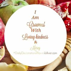 #DailyDeclarations I AM Crowned With Loving-Kindness & Mercy!  ✡Who redeems your life from destruction, Who crowns you with lovingkindness and tender mercies. -Psalm 103:4 #SpeakLife #Blessed #Affirmations #Tanakh #Scriptures #Bible #BibleVerse