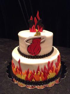 Miami Heat Cake - request for November 1st
