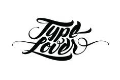 Type Lover by Lukas Vanco, via Behance