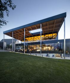 Mont-Laurier multifunctional theatre by Les Architectes Fabg in Mont-Laurier, Canada