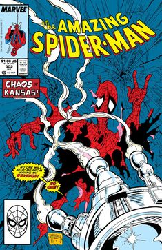 Amazing Spider-Man 302 Marvel 1988 NM Todd McFarlane Silver Sable Condition Near Mint Shipping Shipped in a box, sandwiched between rigid cardboard for protect Marvel Comics Superheroes, Marvel Comic Books, Comic Book Characters, Comic Character, Comic Books Art, Spiderman Marvel, Comic Art, Spiderman Classic, Marvel Characters