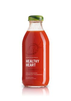 Healthy Heart Juice - The Dieline -