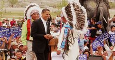 #HISTORIC #VISIT (4th SITTING #PRESIDENT TO #VISIT #INDIAN #COUNTRY) In June 2014, #44thPresident #BarackObama and the #FirstLady #MichelleObama #visited the Standing Rock Sioux Indian Reservation in #NorthDakota This was #historicvisit He was only the fourth sitting President to visit Indian Country, joining Coolidge in 1927, Roosevelt in 1936, and Clinton in 1999.