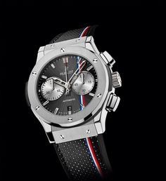 Hublot presents the Official Watch of the Tour Auto 2014