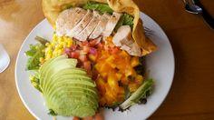 The Olympic Cafe taco salad, Kauai