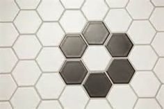 2. Plan out your design; for example, a floret. Each floret is comprised of 6 hexagons.   Now, how many do you require for your floor? Calculate your space and decide.
