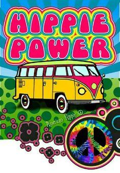 ☮ American Hippie ☮ Hippie Power