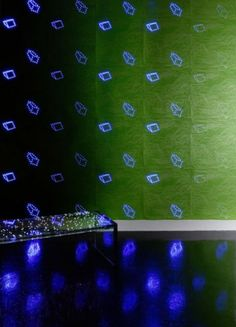 LED wall paper