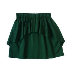 Ainsley Ruffle Skirt Hunter, $59, now featured on Fab.