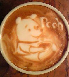 Winnie The Pooh coffee