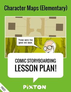 Your students will love writing about THE ELEMENTS OF A STORY with Pixton comics and storyboards! This FREE lesson plan features a Teacher Guide and themed props. PLUS 1 awesome activity with an interactive rubric, a student example and a printable handout.
