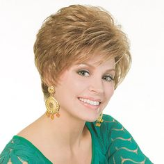 Hailey Wig - Be the envy of all your friends. Expensive looking style for less than a trip to the salon! Find this style & more @ thewigcompany.com