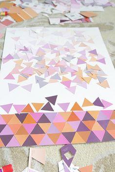 More Paint Chip Art