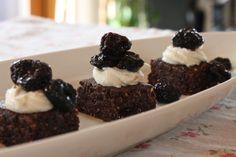 Black forest brownie recipe, raw vegan