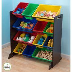 Open Toy Storage Unit