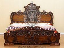 italienisches schlafzimmer rokko luxus 6 tlg bett komplett barock walnuss ebay ideen rund. Black Bedroom Furniture Sets. Home Design Ideas