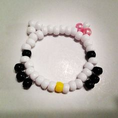 5 Hello Kitty Bracelet Kandi Singles.