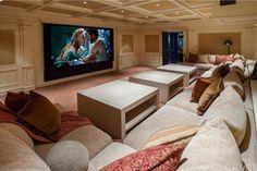 Amazing home theatre. #cinema
