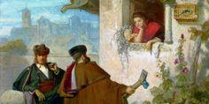 UN ECCEZIONALE RITRATTISTA DI META' OTTOCENTO – Valeriano Becquer – Meeting Benches