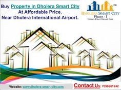 Purchase Property in Dholera Smart City, Gujarat. Plots available for sell (1400 Square Feet) and other size also near Dholera International Airport at affordable price.  Bumper Offers !!! Buy 1 Plot & Get 1 Plot Free. Booking Amount Rs. 5000/- Only. Zero Down Payment Plan. Easy EMI Schemes.  Main Features & Amenities: Near Airport, Metro, Expressway, & Hotel Gallops. 20+ World Class Amazing Amenities. 2 mins from Gallops. 2 mins from ATM. 1 min from Petrol pump.