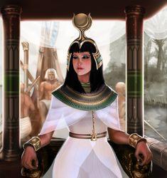 Nile Princess by laclillac.deviantart.com on @deviantART