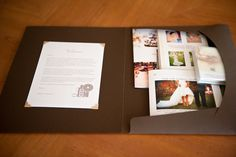 Wedding welcome packet.. love the design